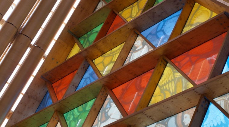 Beca project managed the design and construction of daylighting, glass, line, symmetry, window, wood, brown