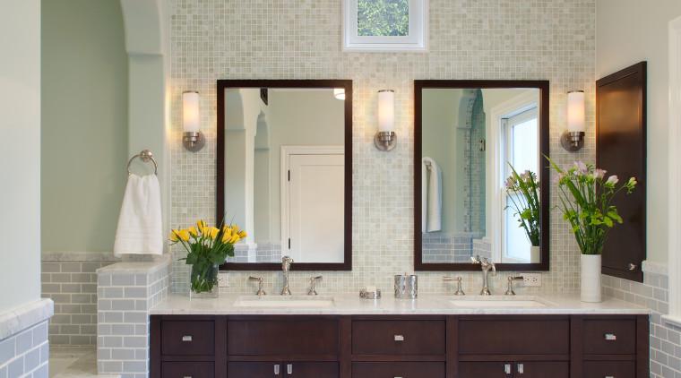 Spanish style tile bathroom bathroom, bathroom accessory, cabinetry, ceiling, countertop, cuisine classique, floor, flooring, home, interior design, kitchen, room, gray