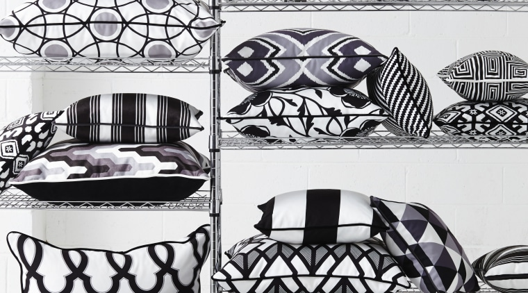 In modern commercial interiors, an eye-catching furnishing scheme automotive design, black and white, car, design, font, monochrome, monochrome photography, pattern, product, product design, vehicle, white, black