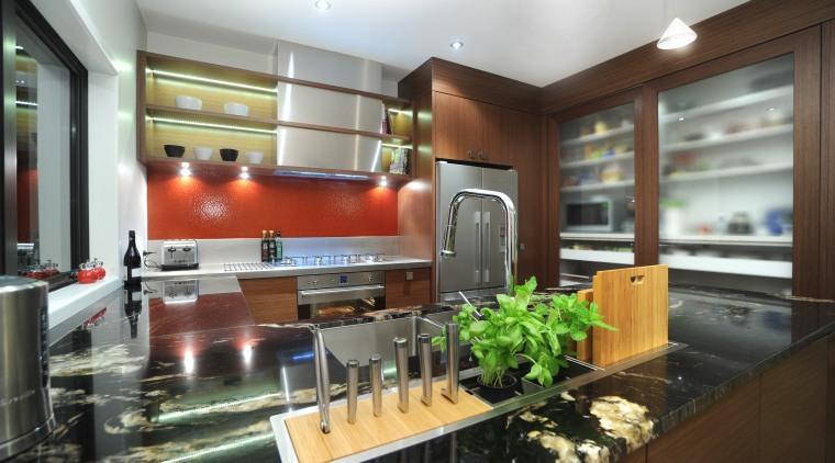 Kitchen designer Suyin says the extra-long Smeg Linea countertop, interior design, kitchen