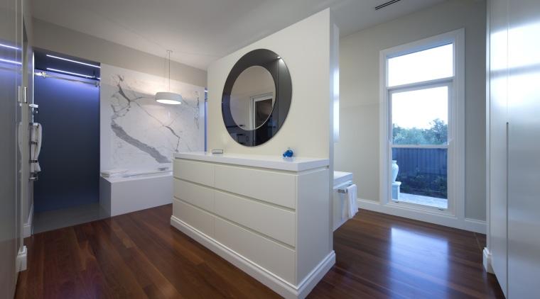 HIA bathroom of the year by MMM Interiors floor, flooring, interior design, real estate, room, window, gray