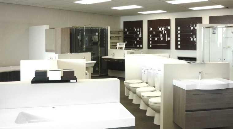 From shower heads to headed towel rails and floor, furniture, interior design, office, product design, table, white, gray