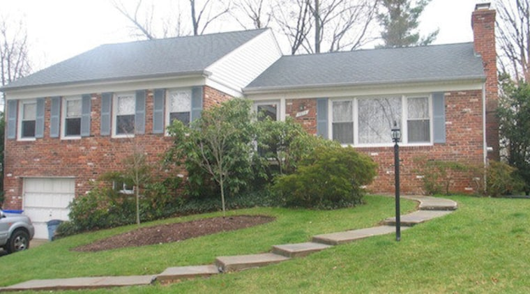 Originally, the home was comprised of two building cottage, estate, home, house, land lot, lawn, neighbourhood, property, real estate, residential area, roof, siding, suburb, tree, window, yard, white, green