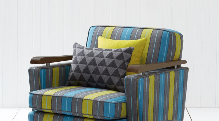 Contemporary geometric patterns in Richmond commercial fabric collection chair, couch, furniture, product, product design, white