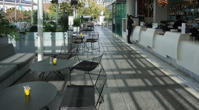 Neuchatel brings a wide range of contemporary waterproofing chair, floor, flooring, furniture, table, gray, black