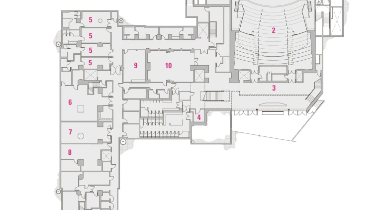 Legend  basement level:Separate structures above ground, the architecture, area, design, diagram, drawing, engineering, floor plan, plan, product, product design, schematic, structure, white