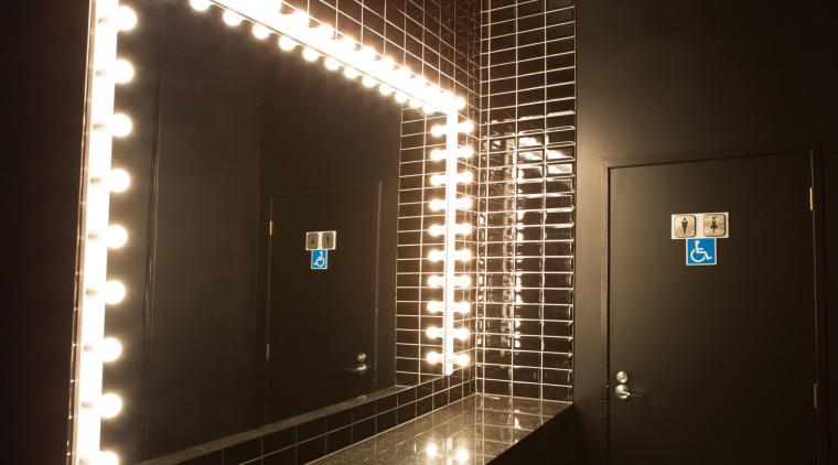 Resene Blackjack and Resene Black White were an light, light fixture, lighting, black