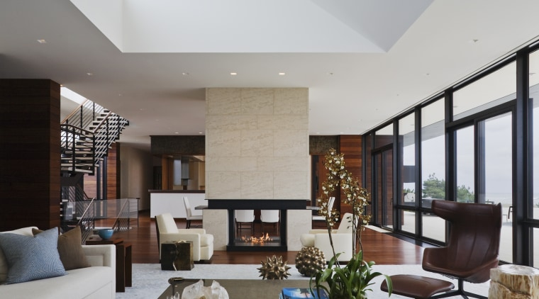 David Scott's interiors were designed in response to