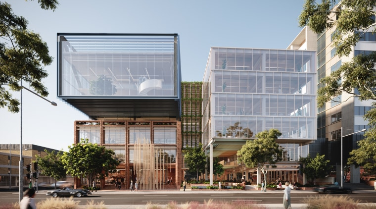 The architectural vision for 131 Henry Street designed