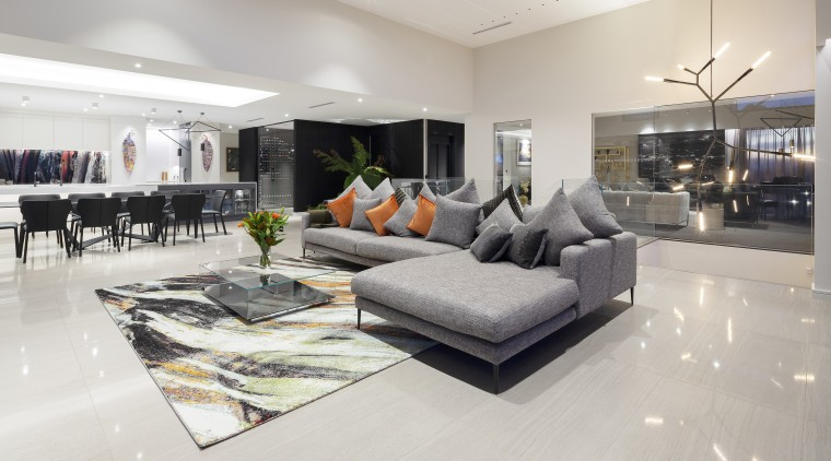 The family room. - Heart of refinement -