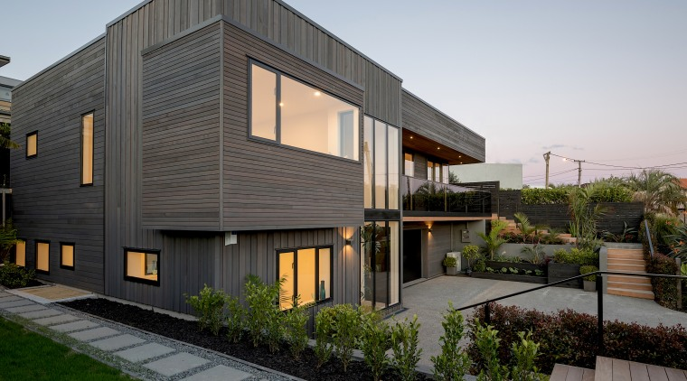 To add further interest to the existing form apartment, architecture, building, design, estate, facade, home, house, interior design, mixed-use, property, real estate, residential area, roof, siding, urban design, gray, black
