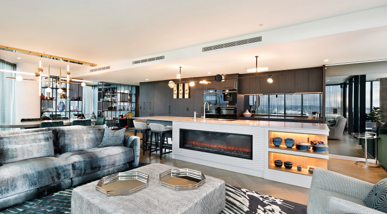 Living spaces post renovation. - Your apartment, but