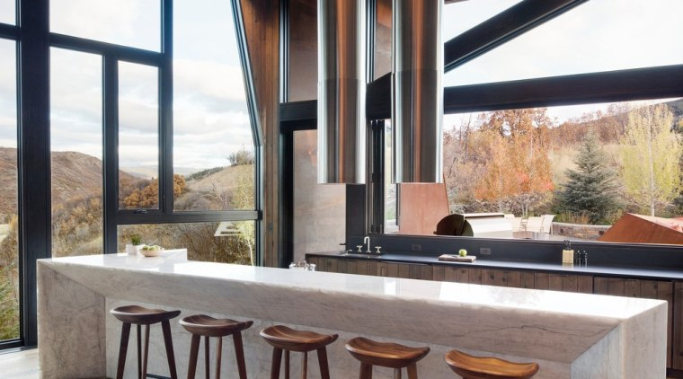 Sharing connections architecture, furniture, house, interior design, table, wood, black