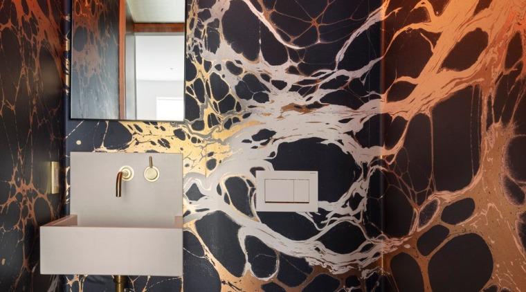 Powder room - bathroom | house | interior bathroom, house, interior design, plumbing fixture, room, toilet, black