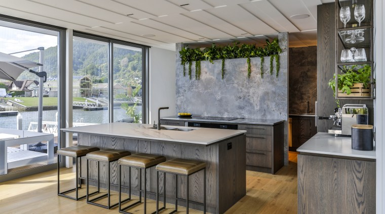 The owners asked designer Michelle Gillbanks of Kitchens