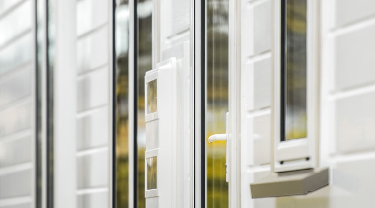Envira Timber Window Sills Feature On New Home door, window, white