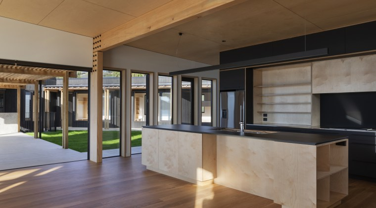 An award-winning home completed with solidly constructed, finely