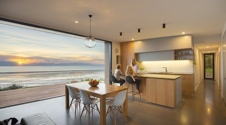 This four-bedroom family home makes the most of apartment, home, house, interior design, real estate, gray, brown
