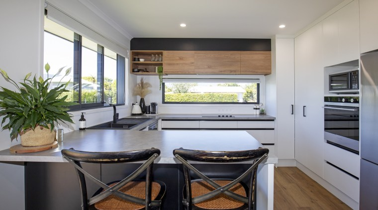 Clean, crisp work surfaces, plenty of natural light