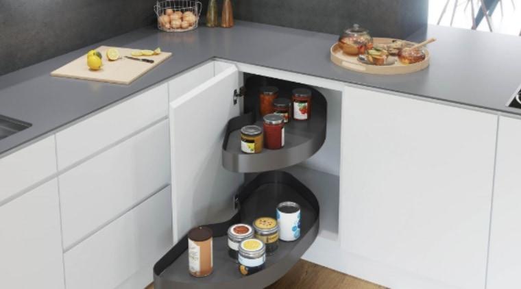 The Cornerstone Maxx Corner Unit makes it easy countertop, kitchen, white