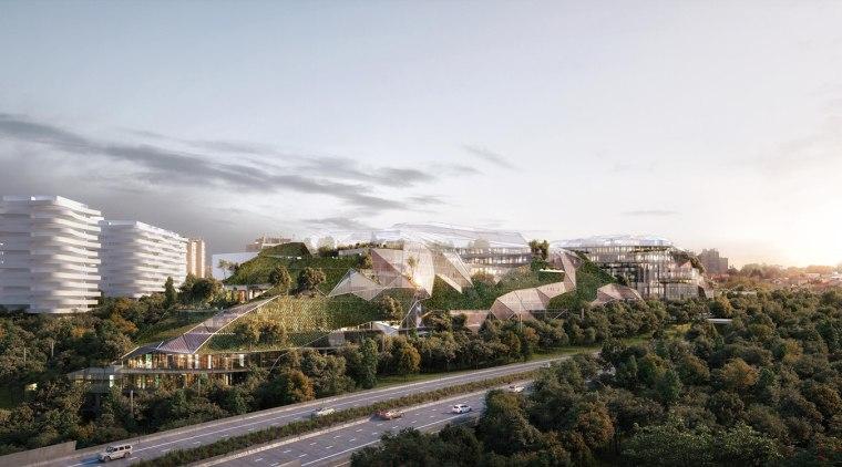 Ecotone – interfacing two worlds city, daytime, horizon, metropolitan area, real estate, residential area, sky, skyline, suburb, tree, urban area, white