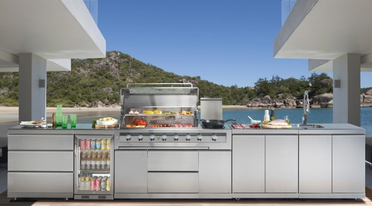 Gasmate Luxury Outdoor Kitchens - countertop | kitchen countertop, kitchen, gray