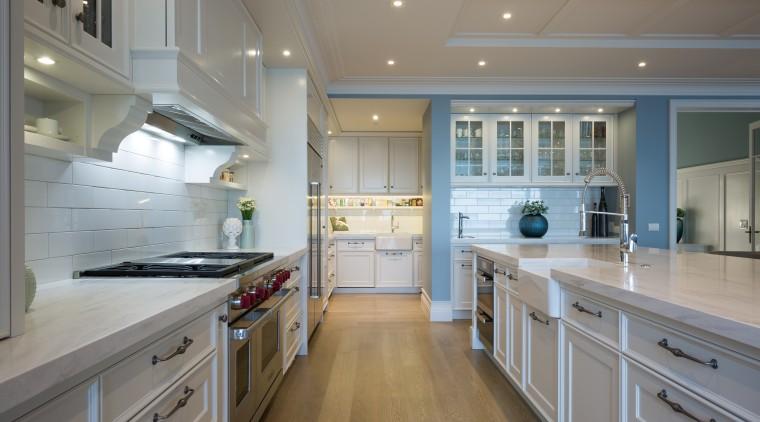 Campbells Bay - cabinetry | countertop | cuisine cabinetry, countertop, cuisine classique, floor, flooring, hardwood, interior design, kitchen, room, gray