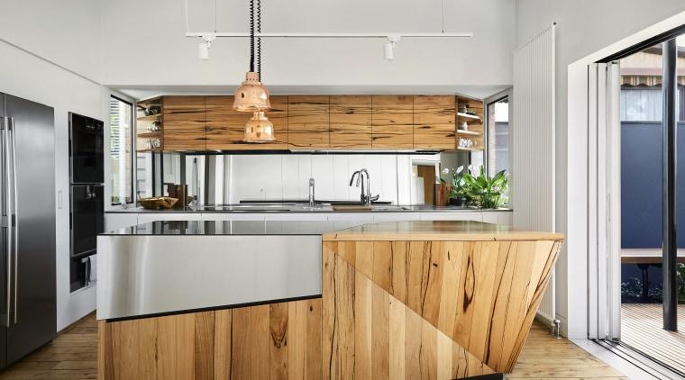 Chip off the brand new block – the cabinetry, countertop, cuisine classique, interior design, kitchen, white, gray