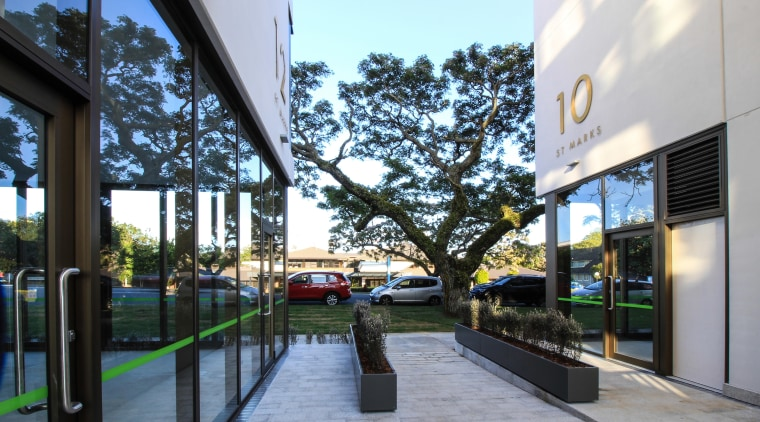 The new St Marks Residences in Remuera, built architecture, mixed use, St Marks Residences,  Dominion Constructors