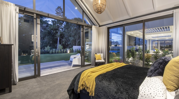 Spoilt for views. While the featured ensuite for gray, black