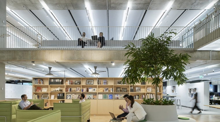 The new Arup Sydney offices, designed co-jointly by architecture, building, ceiling, daylighting, design, floor, flooring, furniture, interior design, lighting, office, office chair, gray