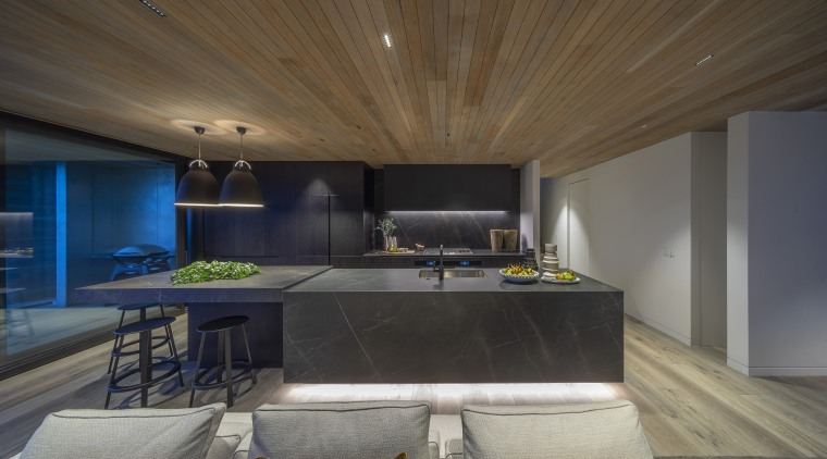 While this kitchen by designer Morgan Cronin may