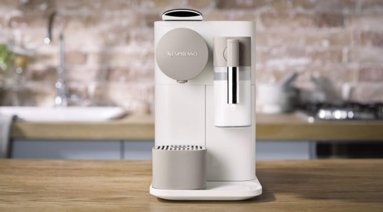 Nespresso coffee machines can give you barista-grade coffee home appliance, product, small appliance, technology, gray