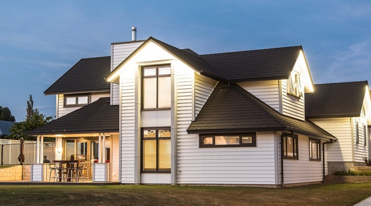 Niagara View - building | cottage | elevation building, cottage, elevation, estate, facade, farmhouse, home, house, property, real estate, residential area, roof, siding, suburb, teal