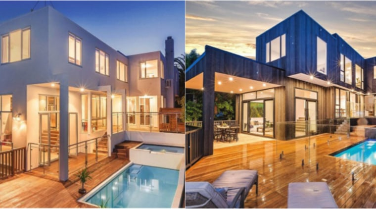 QPC Build Before After - apartment | architecture apartment, architecture, building, condominium, design, estate, facade, furniture, home, house, interior design, mansion, property, real estate, residential area, roof, room, swimming pool, villa, window, orange