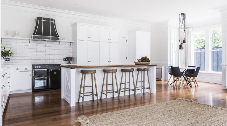 The owners asked for an open kitchen with