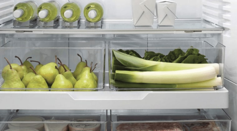 ActiveSmart Foodcare understands how you use your fridge food, produce, vegetable, gray, white