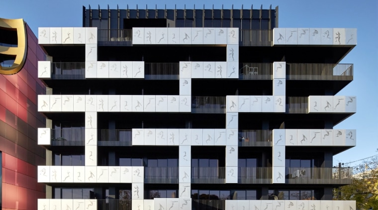 Screen Shot 2018 08 22 At 9 18 apartment, architecture, brutalist architecture, building, commercial building, condominium, corporate headquarters, elevation, facade, headquarters, mixed use, real estate, residential area, black, white