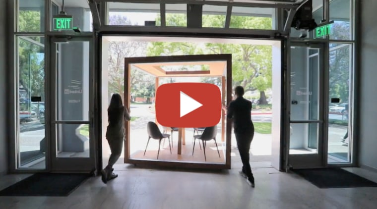 LinkedIn – a workplace laboratory for ongoing experimentation door, interior design, window, gray, black