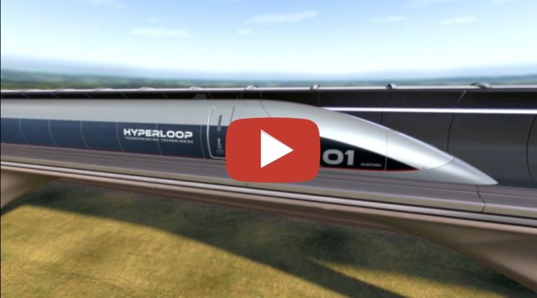 Hyperloop Italia partners with Zaha Hadid Architects