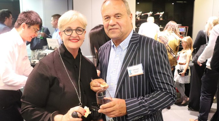 Celia and Frank Visser - event | eyewear event, eyewear, black, white