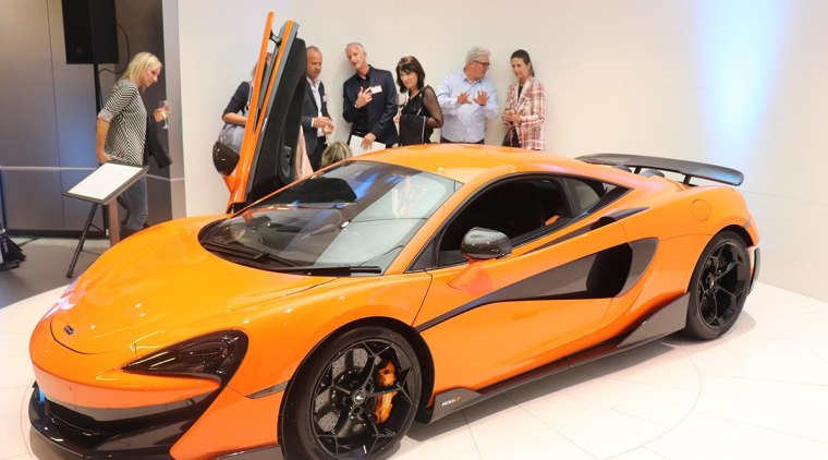 McLaren - auto show | automotive design | auto show, automotive design, car, land vehicle, mclaren automotive, mclaren mp4-12c, mclaren p1, performance car, sports car, supercar, vehicle, white