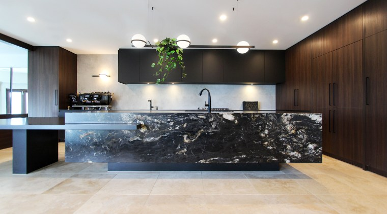 The brief was for a contemporary kitchen to