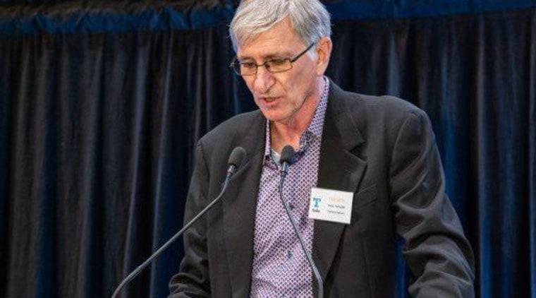 2019 TIDA New Zealand Homes presentation evening event, orator, public speaking, speaker, speech, spokesperson, black