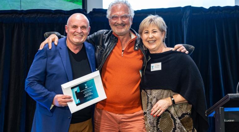 2019 TIDA New Zealand Homes presentation evening award, community, event, technology, blue, black
