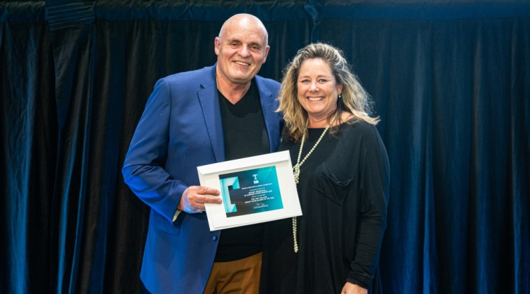 2019 TIDA New Zealand Homes presentation evening award, award ceremony, event, blue, black