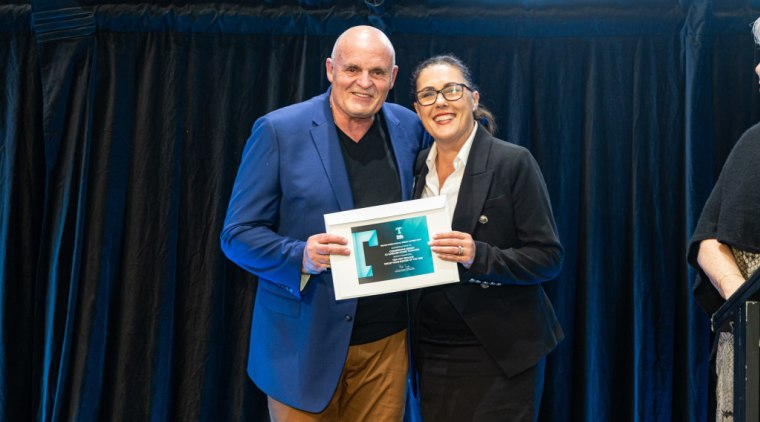 2019 TIDA New Zealand Homes presentation evening award, award ceremony, blue, community, event, technology, black, blue