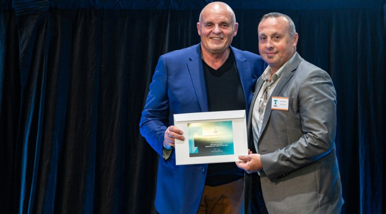 2019 TIDA New Zealand Homes presentation evening award, award ceremony, blue, community, event, black