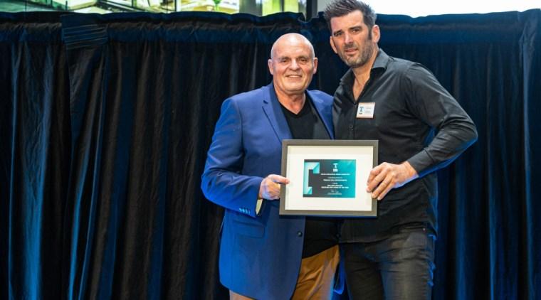 2019 TIDA New Zealand Homes presentation evening award, event, black, blue