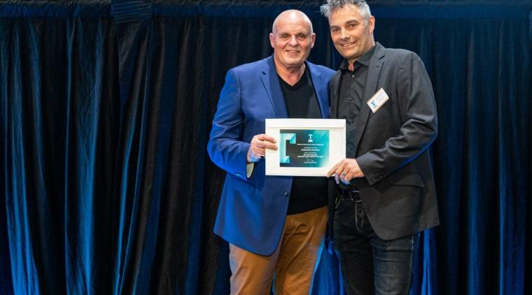 2019 TIDA New Zealand Homes presentation evening award, award ceremony, blue, employment, event, green, technology, blue, black